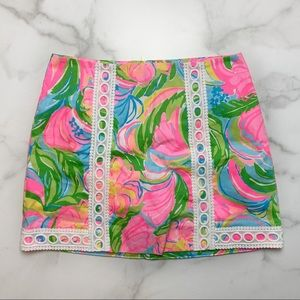 Lilly Pulitzer Pansy Lace Skort
